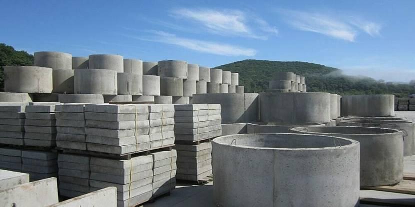 Пример изделий из бетона