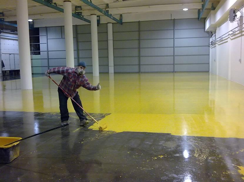 укрепление бетонного пола