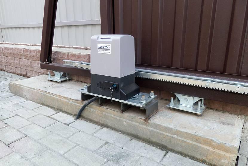 Электропривод раздвижных ворот