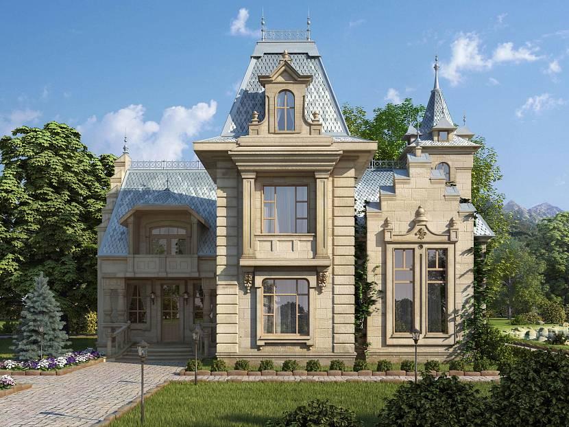 часто картинка дома в стиле барокко слишком