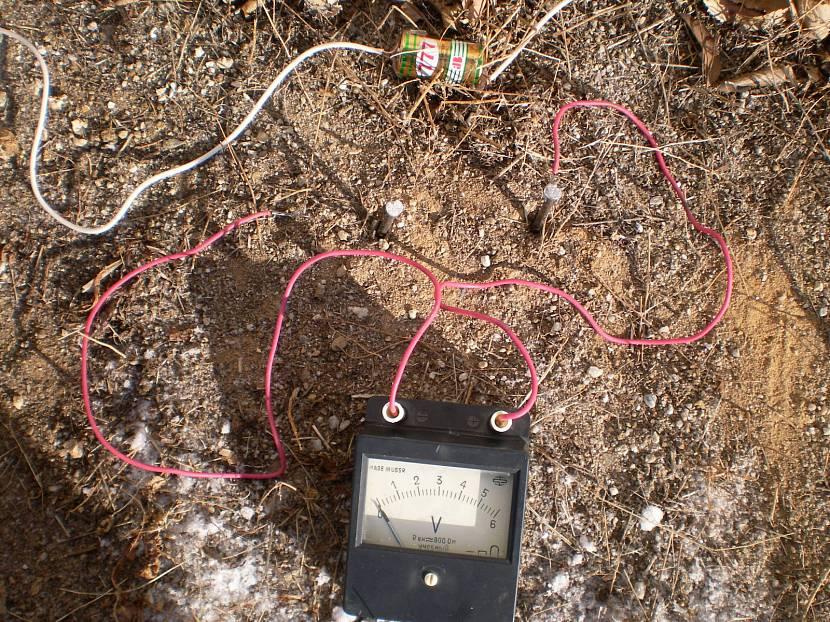 Поиск водоносных слоёв электрическим зондом