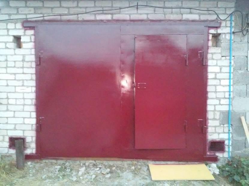 Обновлённые гаражные ворота