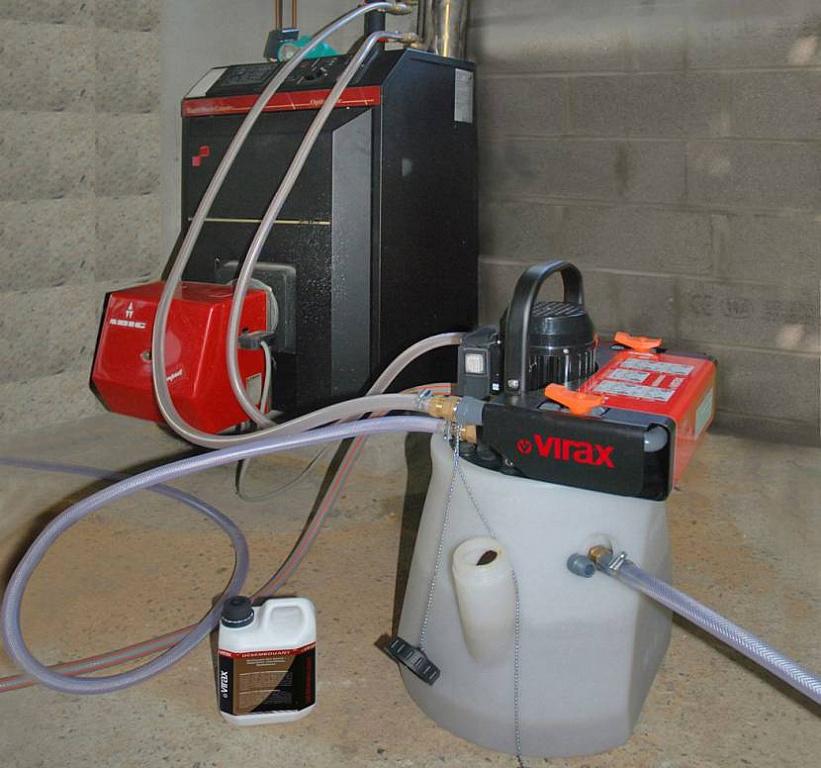 Опрессовка газо-котельного оборудования