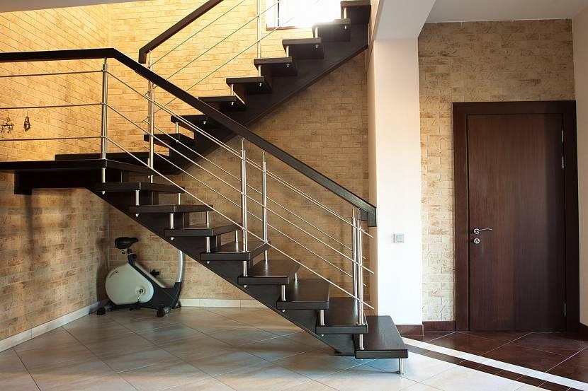 Двухпролетная лестница