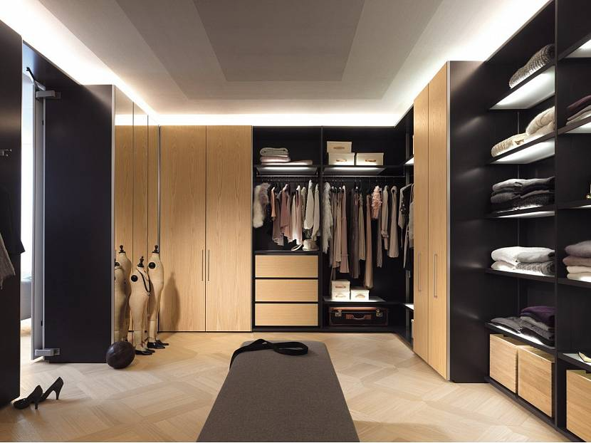 Закрытые гардеробные