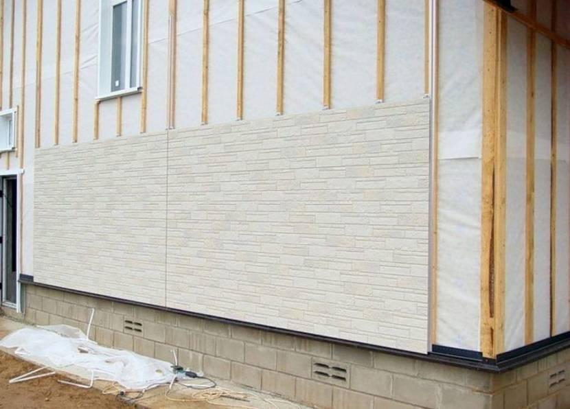 чем отделать фасад дома из пеноблоков снаружи