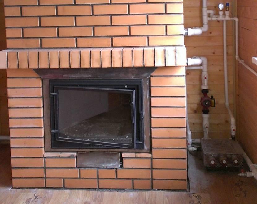 Домашняя газовая печь