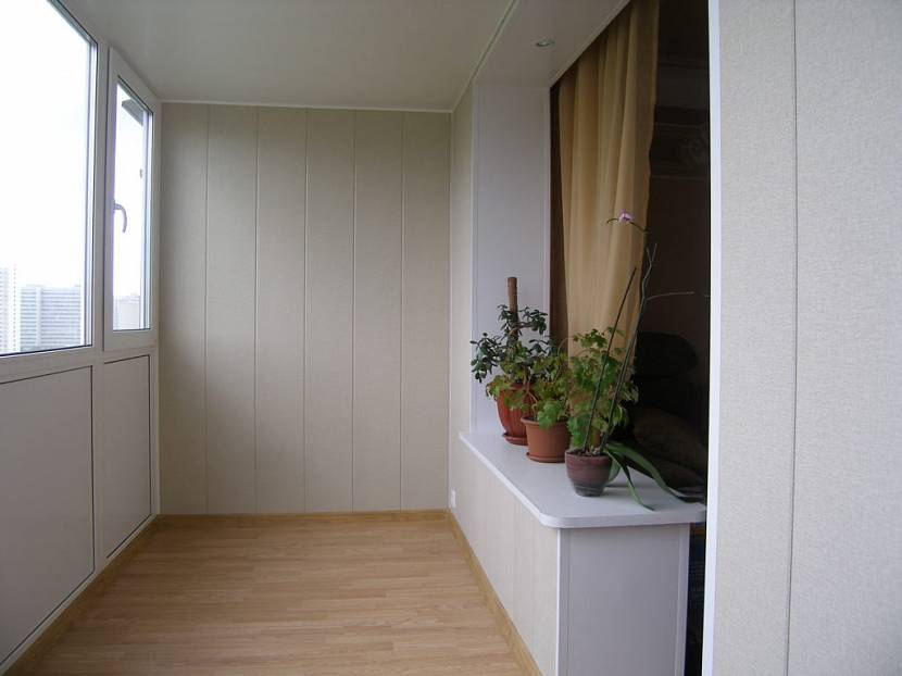 Пример соединения лоджии с жилой комнатой
