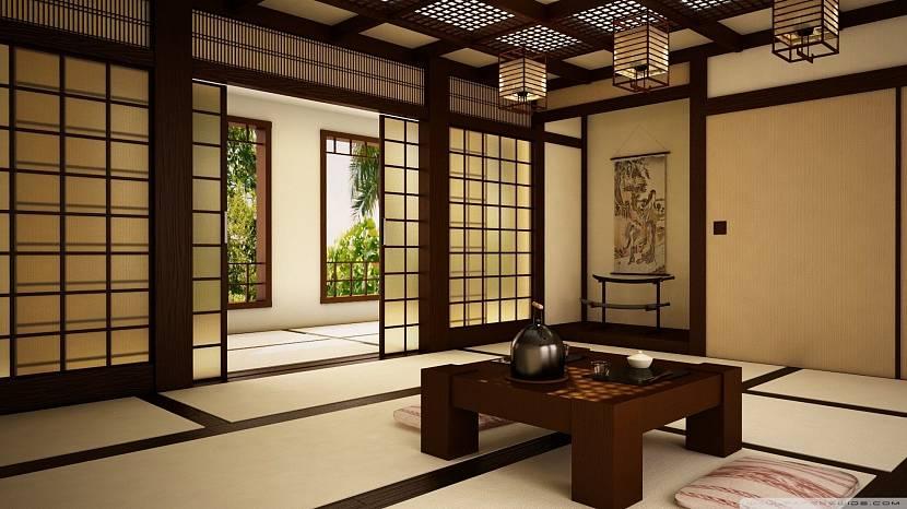 Японский стол для чаепития