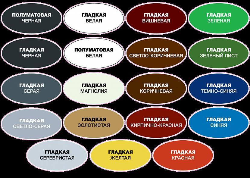 Цветочная гамма красок по ржавчине