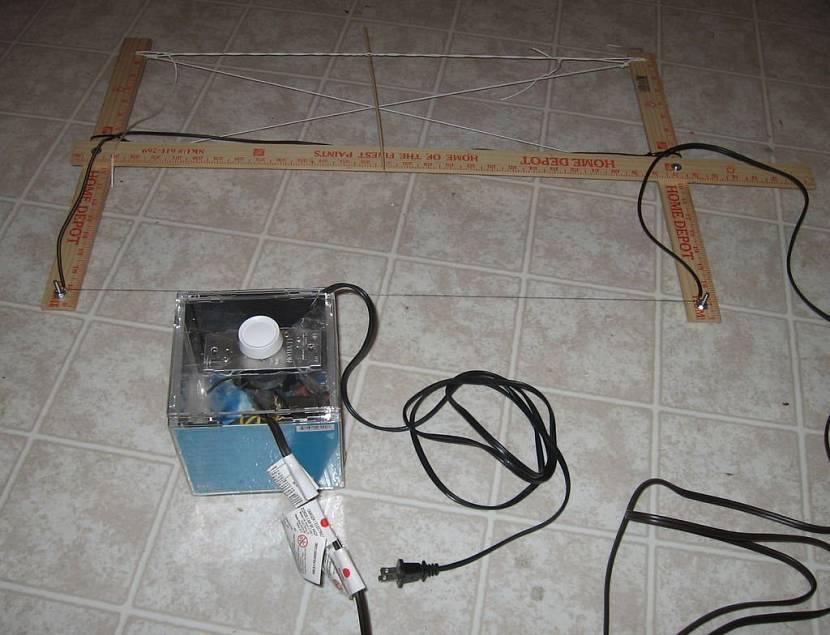 Самодельный терморезак для пенопласта