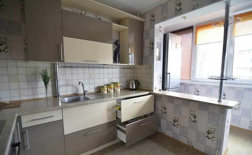 Вариант просторной кухни