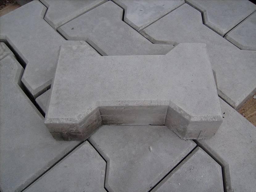Тротуарная плитка толщиной 60 мм