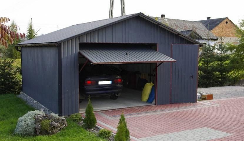 Правильно сделанный въезд в гараж