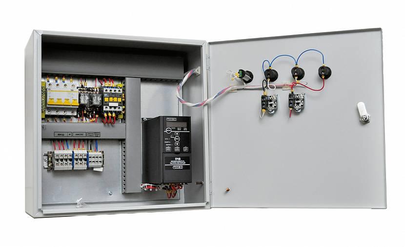 Система контроля за погружным насосом (электрошкаф)