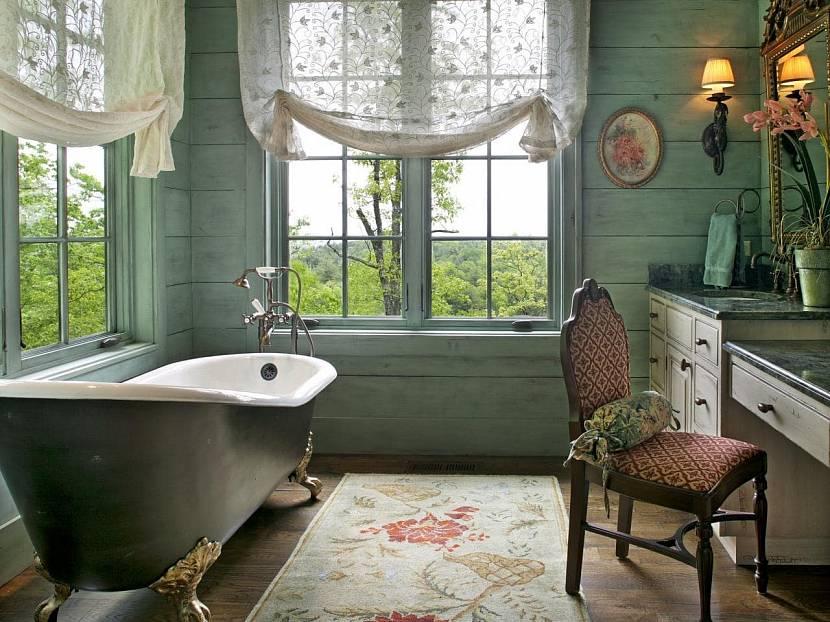 Красивая светлая ванная