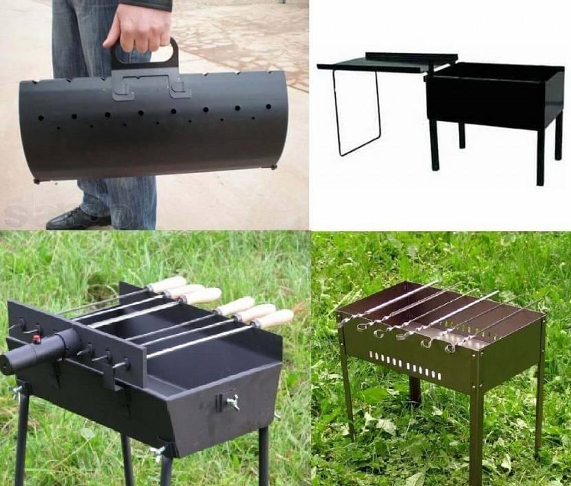 печка для барбекю