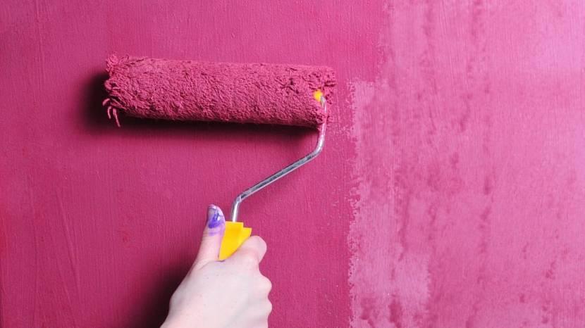 Для насыщенного цвета надо несколько слоёв краски