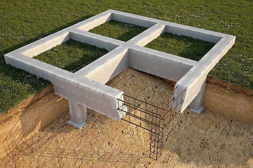 Мелкозаглублённый ленточный фундамент