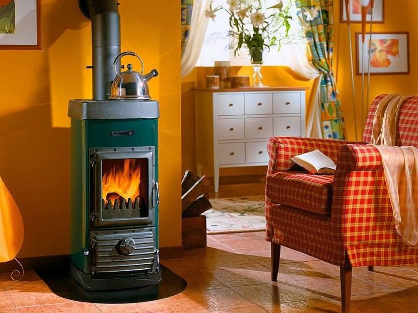Дровяной котел для отопления дома