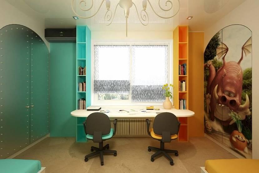 Необычный дизайн помещения
