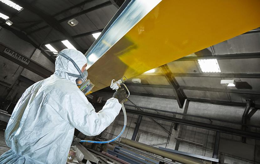 Средства защиты при работе с краской