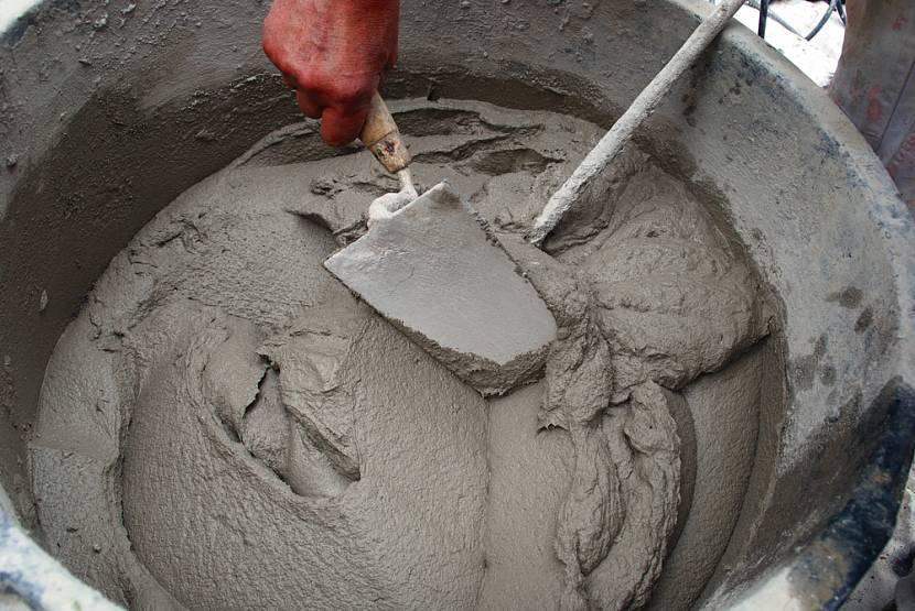 Классический кладочный раствор из цемента и песка