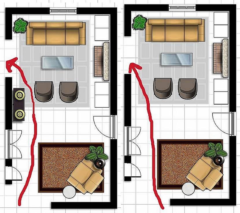Как в доме расставить мебель