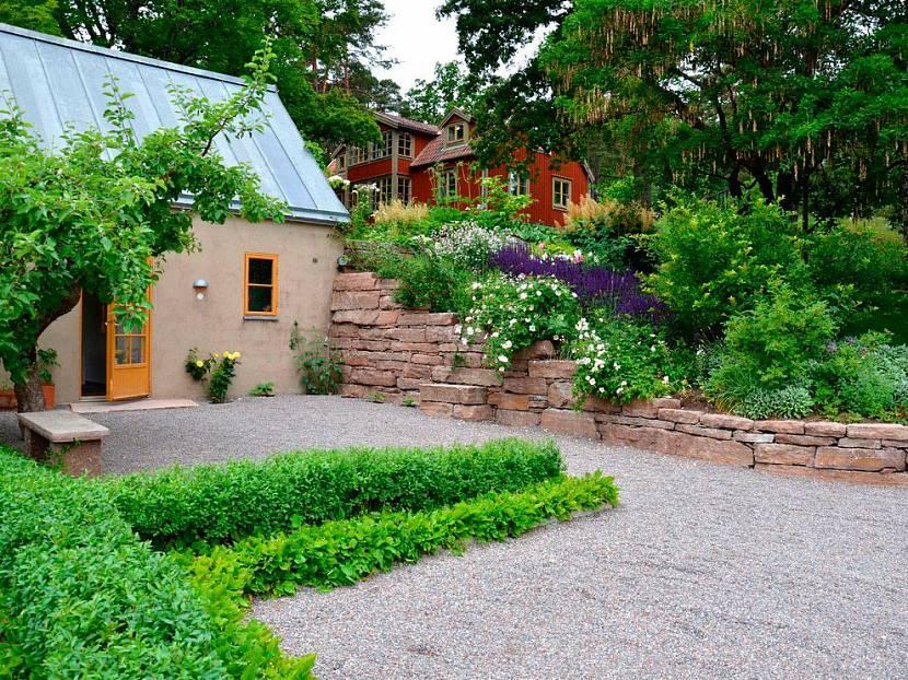 Растения в скандинавском саду