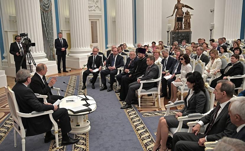 Путин в Общественной палате