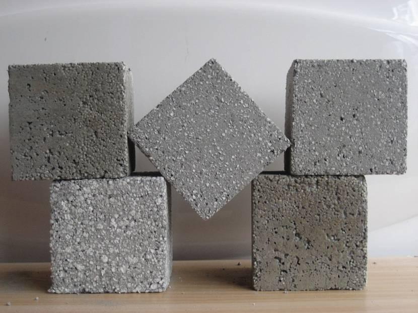 Различные виды бетонов