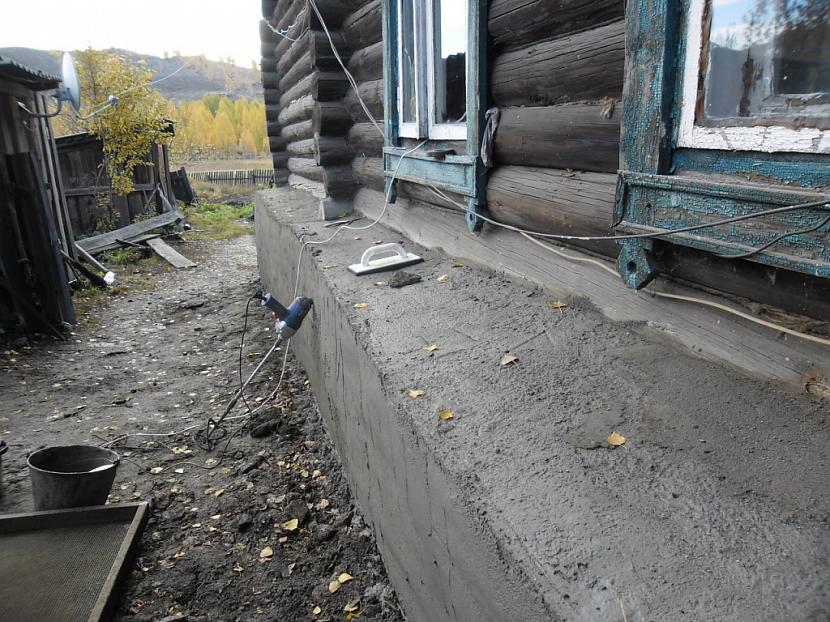 Старый деревянный дом после реконструкции
