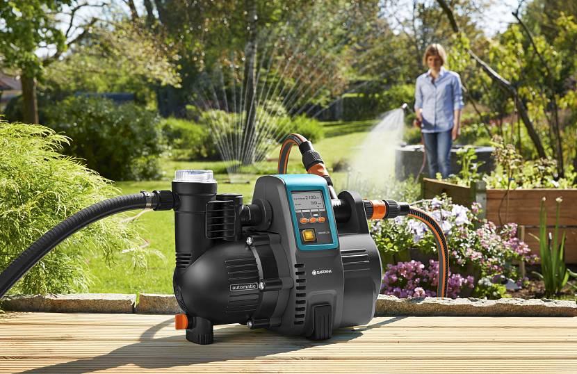 Надо правильно подобрать насос: сильный полив или маленький фонтан