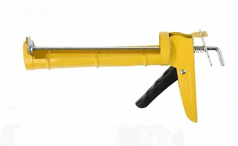 Простой пистолет для силикона