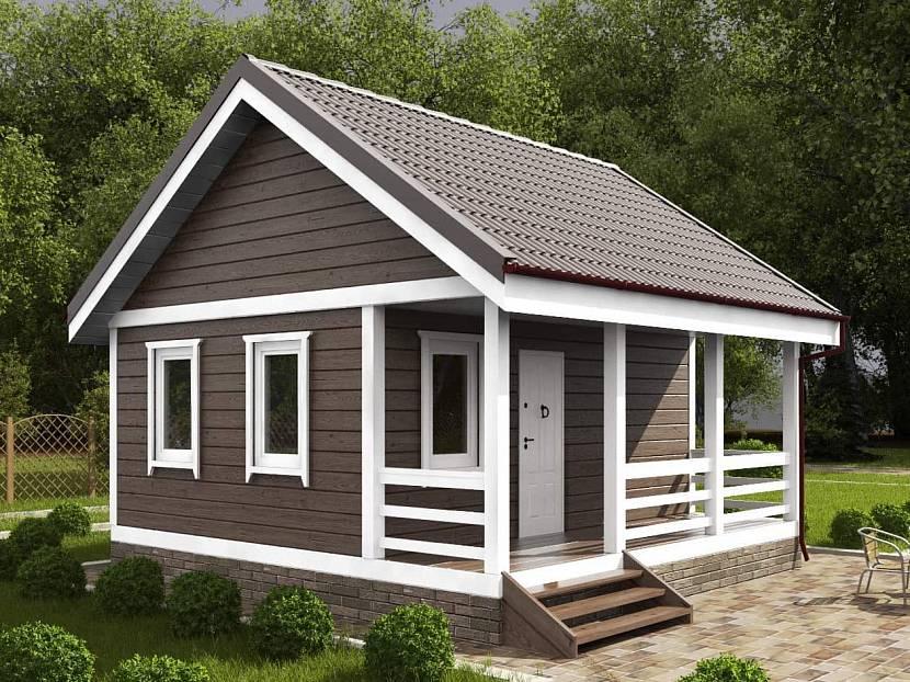 Одноэтажный домик