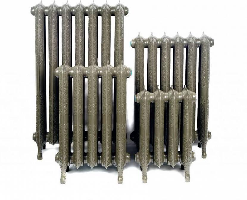 Радиаторы одной серии разной высоты