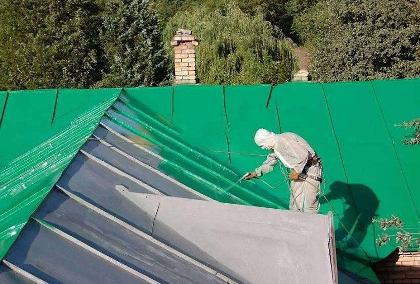 ремонт фальцевой крыши