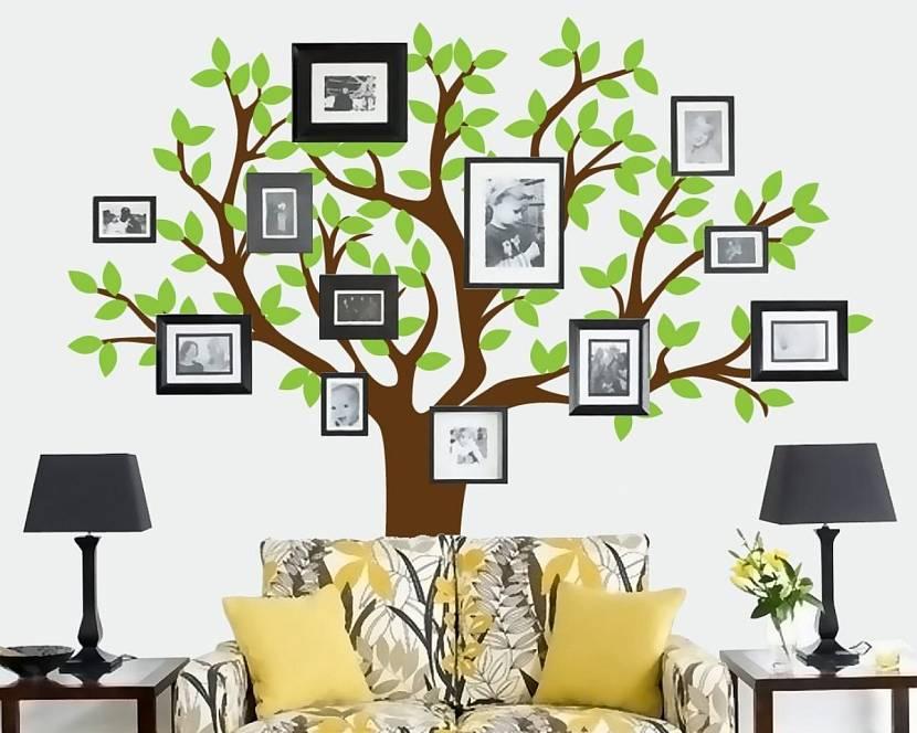 как сделать дерево с фотографиями исландского шпата