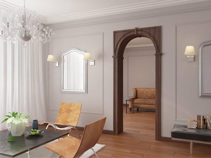 Деревянный дверной проем