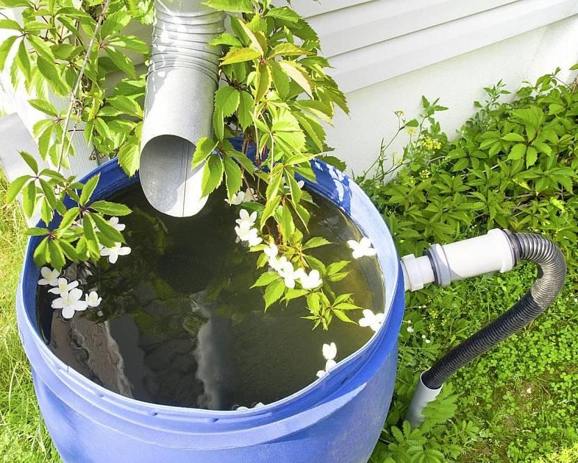 Тип систем водостока и накопления дождевых потоков