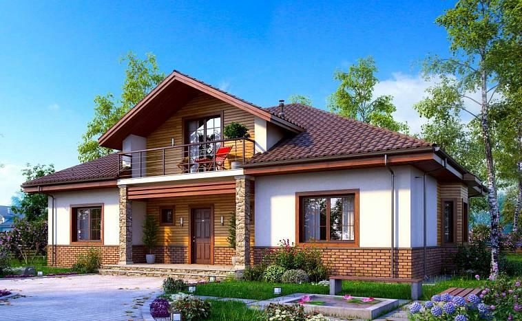 Красивые проекты одноэтажных домов в современном стиле ...