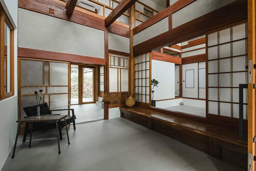 Деревянные конструкции в японском доме