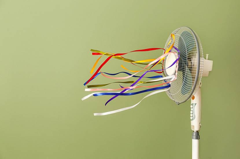 Работающий вентилятор