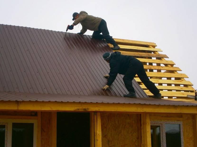металл для крыши