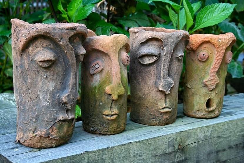 Садовые фигурки из бетона