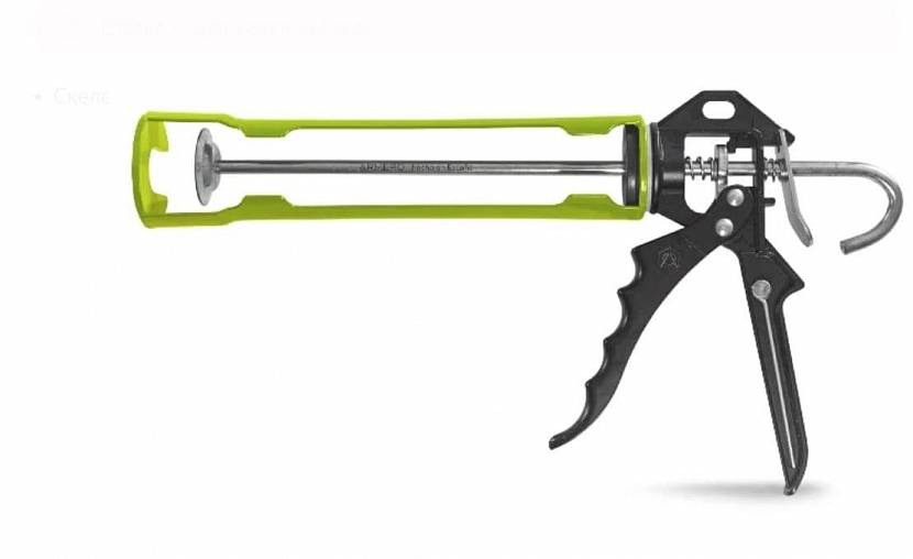 Пистолет открытого типа
