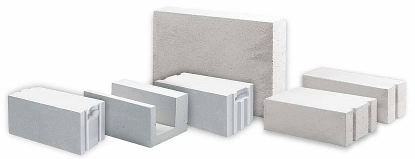 Газобетонные блоки различной формы