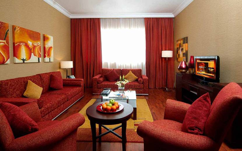 Терракотовый цвет в интерьере дома