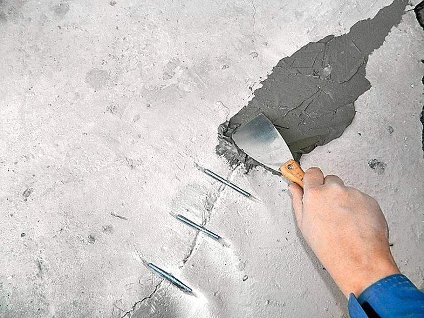 Армирование трещин