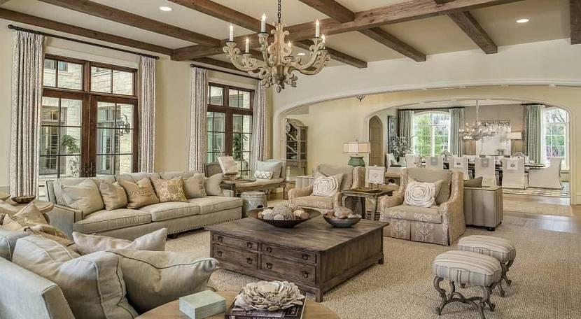 Большой зал с диванами